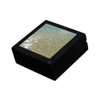 ビーチの水私は自然の写真撮影を抽出します ギフトボックス