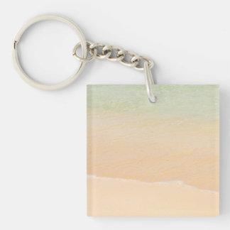ビーチの水線Keychain キーホルダー