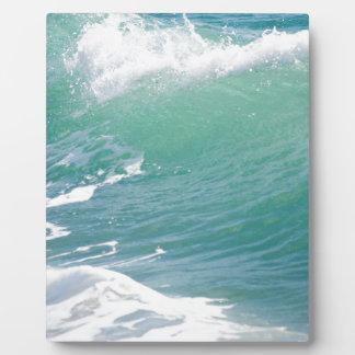 ビーチの波 フォトプラーク