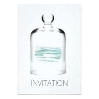 ビーチの海の海クラブパーティVipの招待状 カード