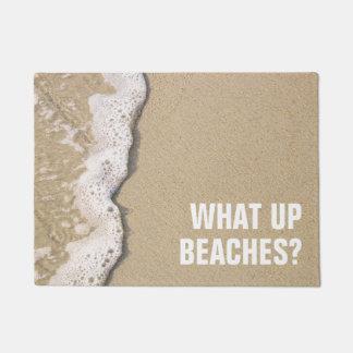 ビーチの海岸 ドアマット