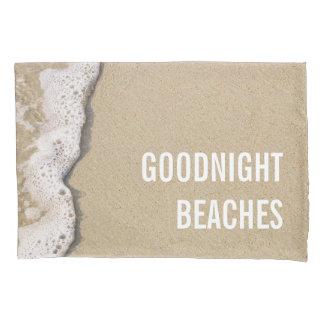 ビーチの海岸 枕カバー