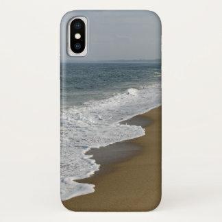 ビーチの海洋波 iPhone X ケース