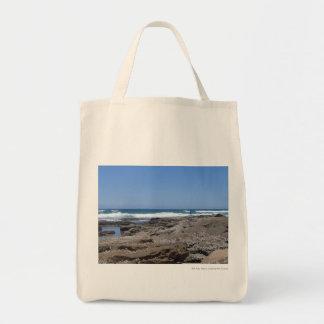 ビーチの漁師 トートバッグ
