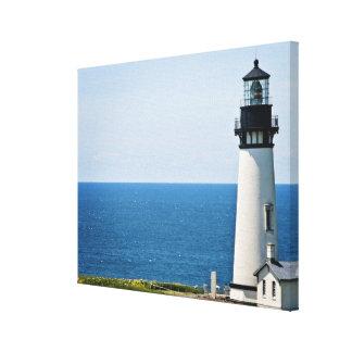 ビーチの灯台 キャンバスプリント
