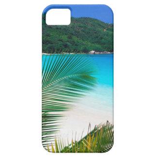 ビーチの熱帯退去セイシェル iPhone SE/5/5s ケース