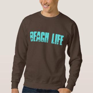 ビーチの生命ワイシャツ スウェットシャツ