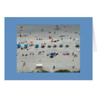 ビーチの生命 カード