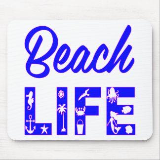 ビーチの生命FB.com/USAPatriotGraphicsの© マウスパッド