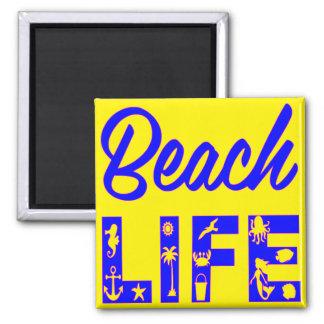 ビーチの生命FB.com/USAPatriotGraphicsの© マグネット