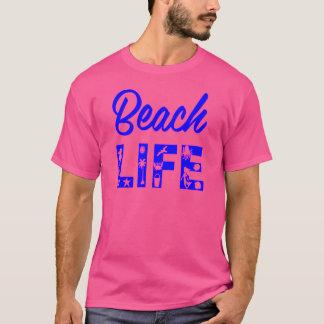 ビーチの生命FB.com/USAPatriotGraphicsの© Tシャツ