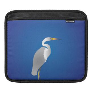 ビーチの白鷺 iPadスリーブ