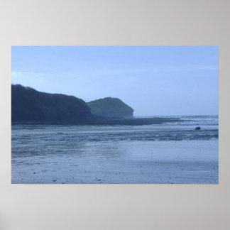 ビーチの眺め ポスター