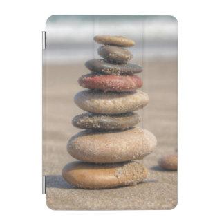 ビーチの石造りタワー iPad MINIカバー