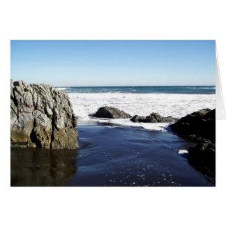 ビーチの石 カード
