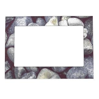 ビーチの石 マグネットフレーム