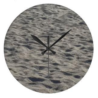 ビーチの砂の時計 ラージ壁時計