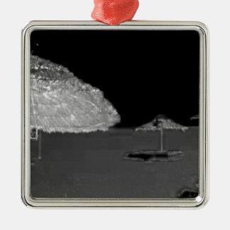 ビーチの空想 メタルオーナメント