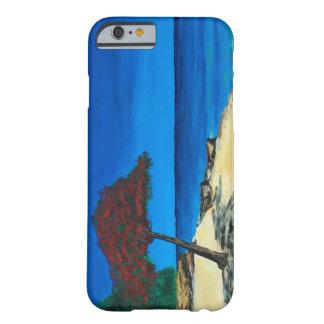 ビーチの絵画のiPhone6ケース Barely There iPhone 6 ケース