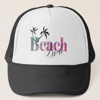 ビーチの花嫁-ヤシの木 キャップ