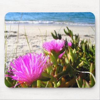 ビーチの花 マウスパッド
