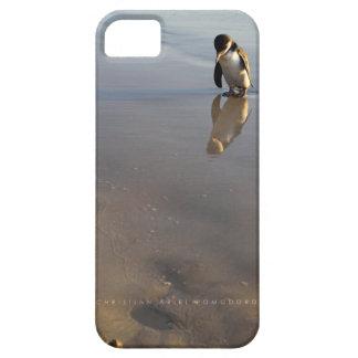 ビーチの行くペンギン iPhone SE/5/5s ケース