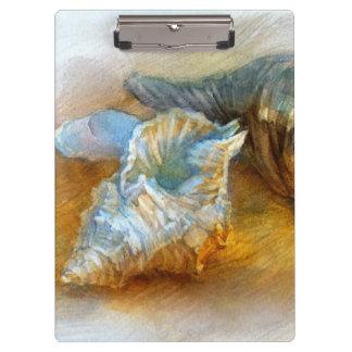 ビーチの貝殻 クリップボード