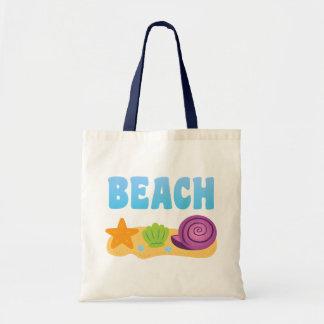 ビーチの貝殻 トートバッグ
