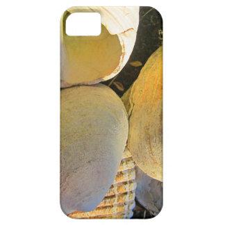 ビーチの貝殻 iPhone SE/5/5s ケース