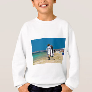 ビーチの販売人 スウェットシャツ