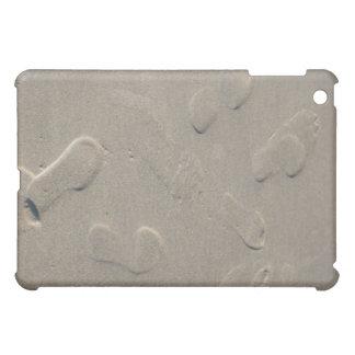 ビーチの足跡 iPad MINIカバー