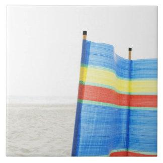 ビーチの風の壊れ目 タイル