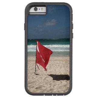 ビーチの飛び込みの旗 TOUGH XTREME iPhone 6 ケース