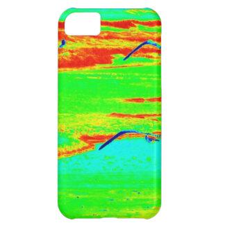 ビーチの2羽のカモメ iPhone5Cケース
