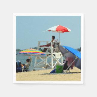 ビーチの3 スタンダードカクテルナプキン