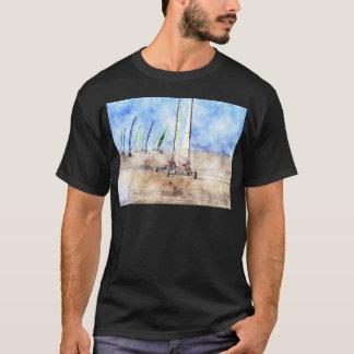 ビーチのBlokartのレーサー Tシャツ