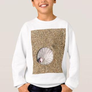 ビーチのIMG_0578.JPG Sandollarの貝殻 スウェットシャツ