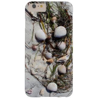 ビーチのiphoneの例の貝殻 barely there iPhone 6 plus ケース