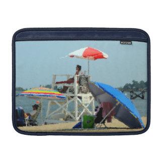 ビーチのMacBookの空気袖の3 MacBook スリーブ