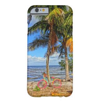 ビーチのMatlachaのマツ島フロリダの自転車 Barely There iPhone 6 ケース