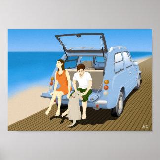ビーチのPao ポスター
