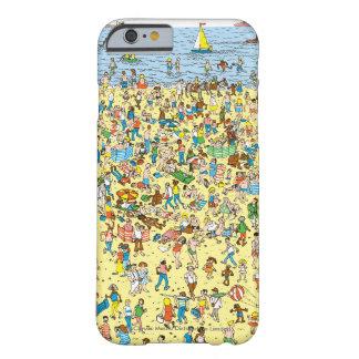 ビーチのWaldoがいるところ Barely There iPhone 6 ケース