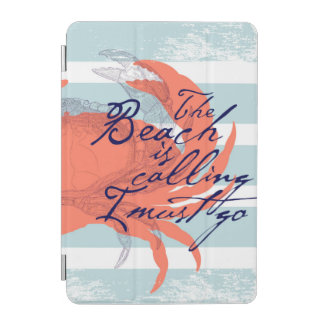ビーチはで私行かなければなりません呼びます iPad MINIカバー