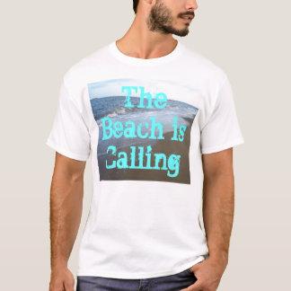 ビーチはビーチをつまらない波のワイシャツCricketDianeと呼んでいます Tシャツ