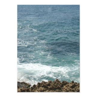 ビーチは海に会います カード