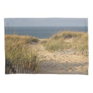 ビーチへのサンディ道 枕カバー