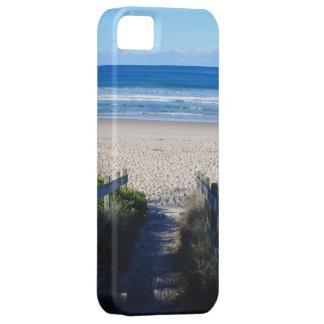 ビーチへの歩行 iPhone SE/5/5s ケース