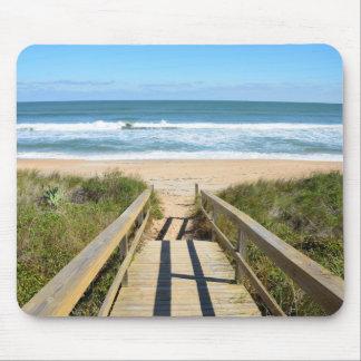 ビーチへの通路 マウスパッド