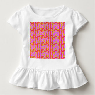 ビーチサンダルのハワイのスタイル トドラーTシャツ