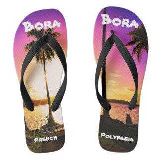 ビーチサンダルのBora Boraの日没 ビーチサンダル